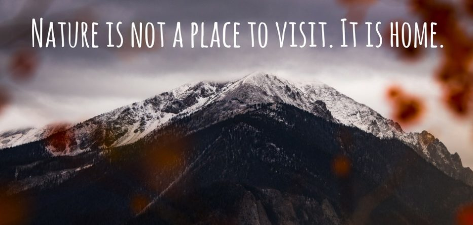 Moving to mountains - living a life of travel