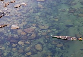 Umngot river dawki clear water