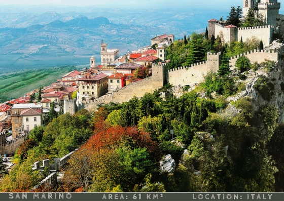 San marino smallest countries