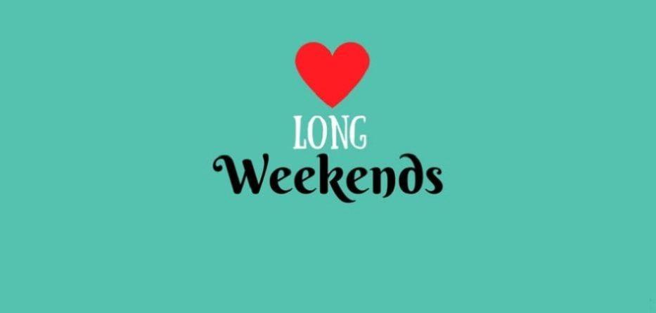 long weekends in 2017