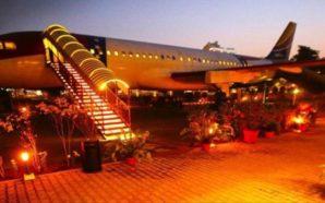 hawai adda Airplane restaurant