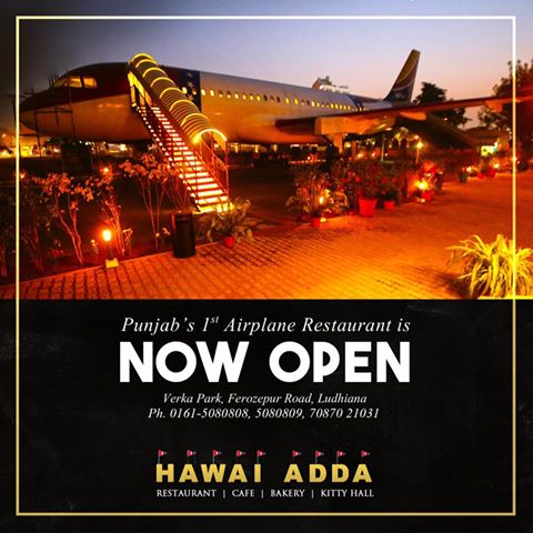 Punjab first airplane restaurant in Ludhiana