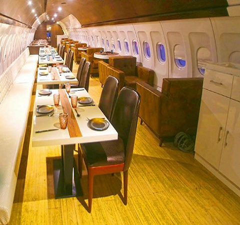 Airplane restaurant Ludhiana Punjab