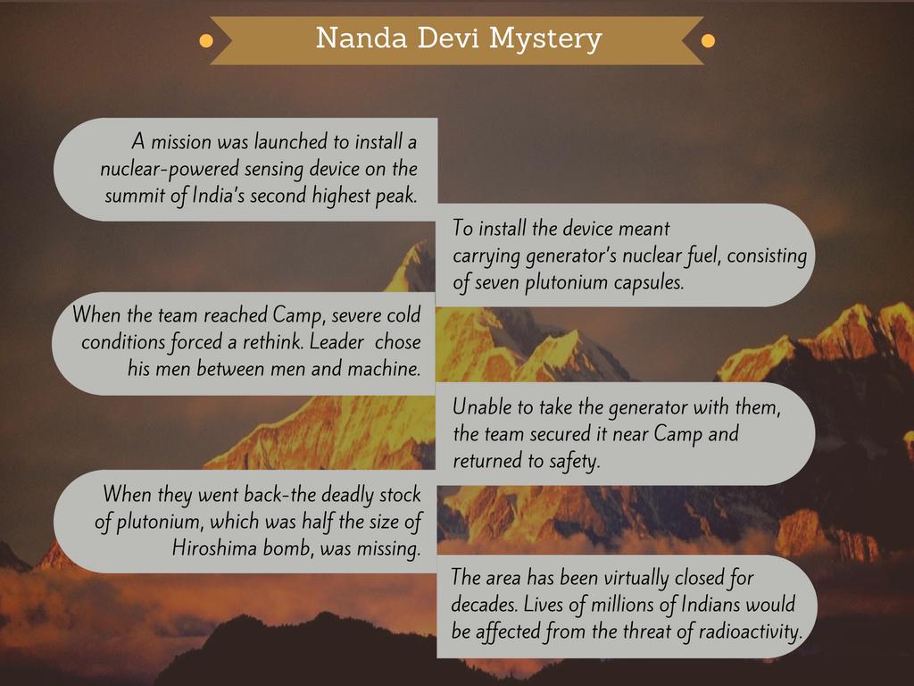 Nanda devi mystery travel story