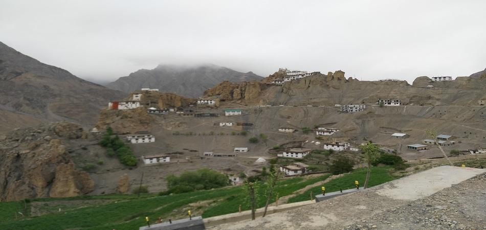Dhankar village Spiti Valley