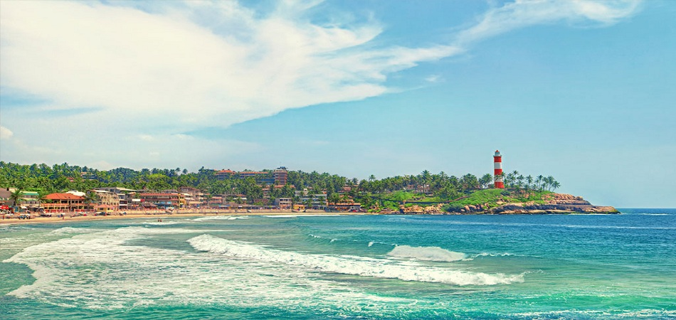 Lighthouse kovalam beach beaches in india