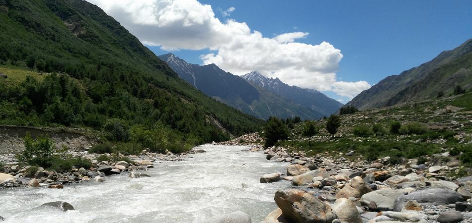 Kinnaur Baspa river chitkul