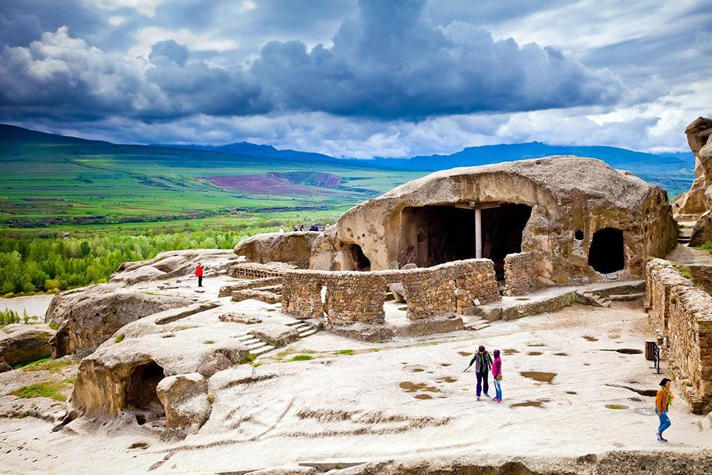 Cave City Of Uplistsikhe