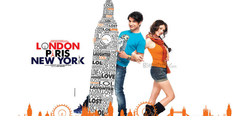London paris new york Top bollywood travel movies