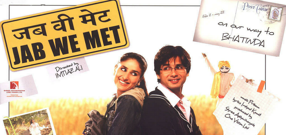 Jab we met Top bollywood travel movies