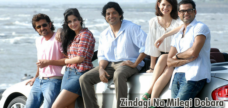 ZNMD Top bollywood travel movies